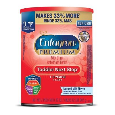Enfamil Premium, Non-GMO Toddler Next Step Formula Powder - 32oz