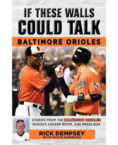 If These Walls Could Talk : Baltimore Orioles: Stories from the Baltimore Orioles Sideline, Locker Room, - image 1 of 1