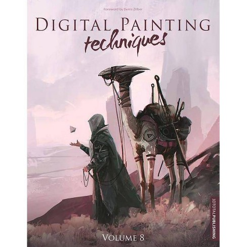 Digital Painting Techniques - (Paperback) - image 1 of 1