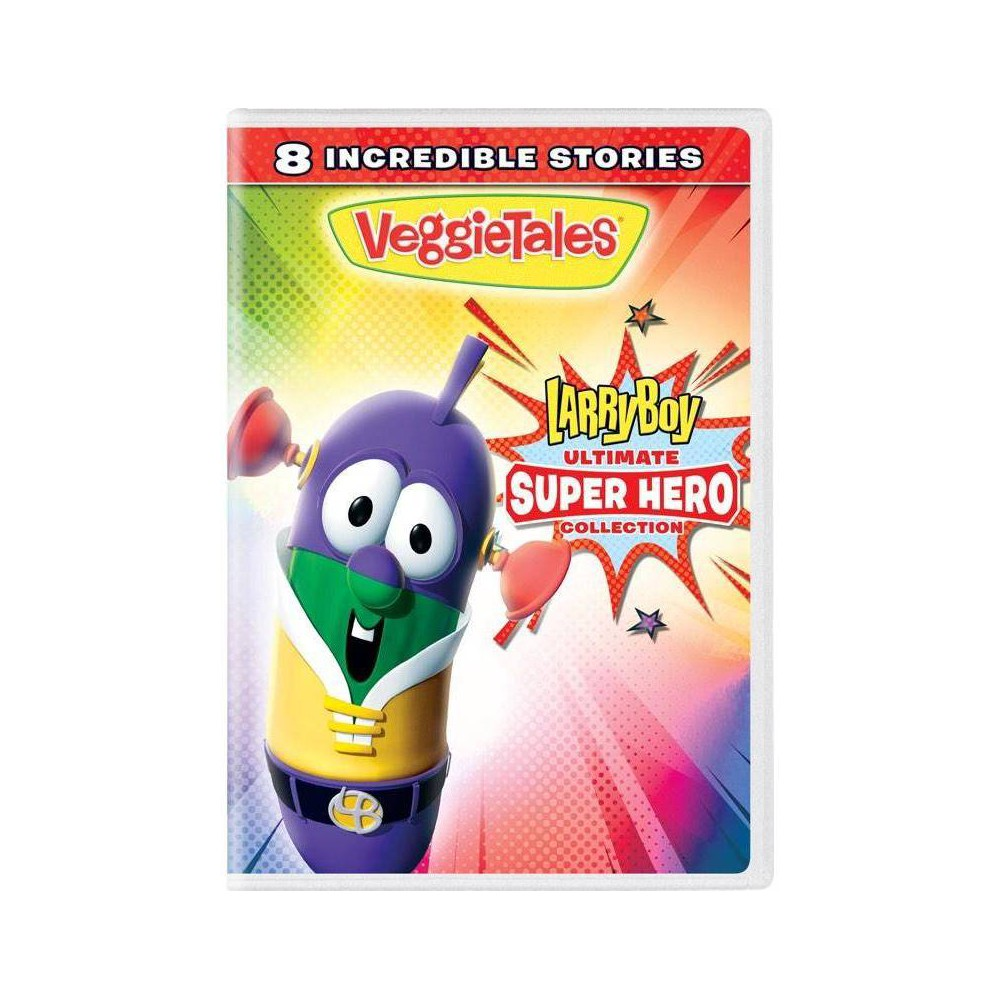 Veggie Tales Larryboy Ultimate Super Hero Collection Dvd 2019