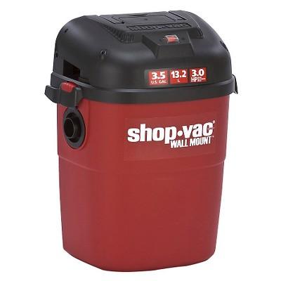 ShopVac 3.5 Gallon Wall Mount Vacuum