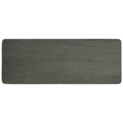 "22""x60"" Bubble Memory Foam Bath Rug Dark Gray - Threshold™"