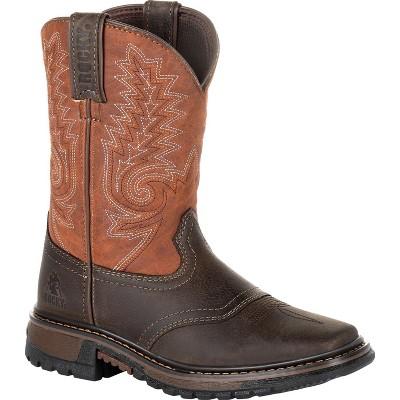 Kids Rocky Big Kids' Ride FLX Western Boot