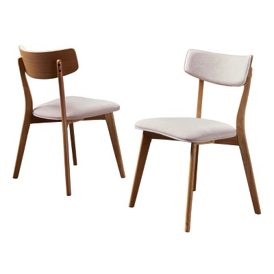 Set of 2 Chazz Mid-Century Dining Chair - Christopher Knight Home