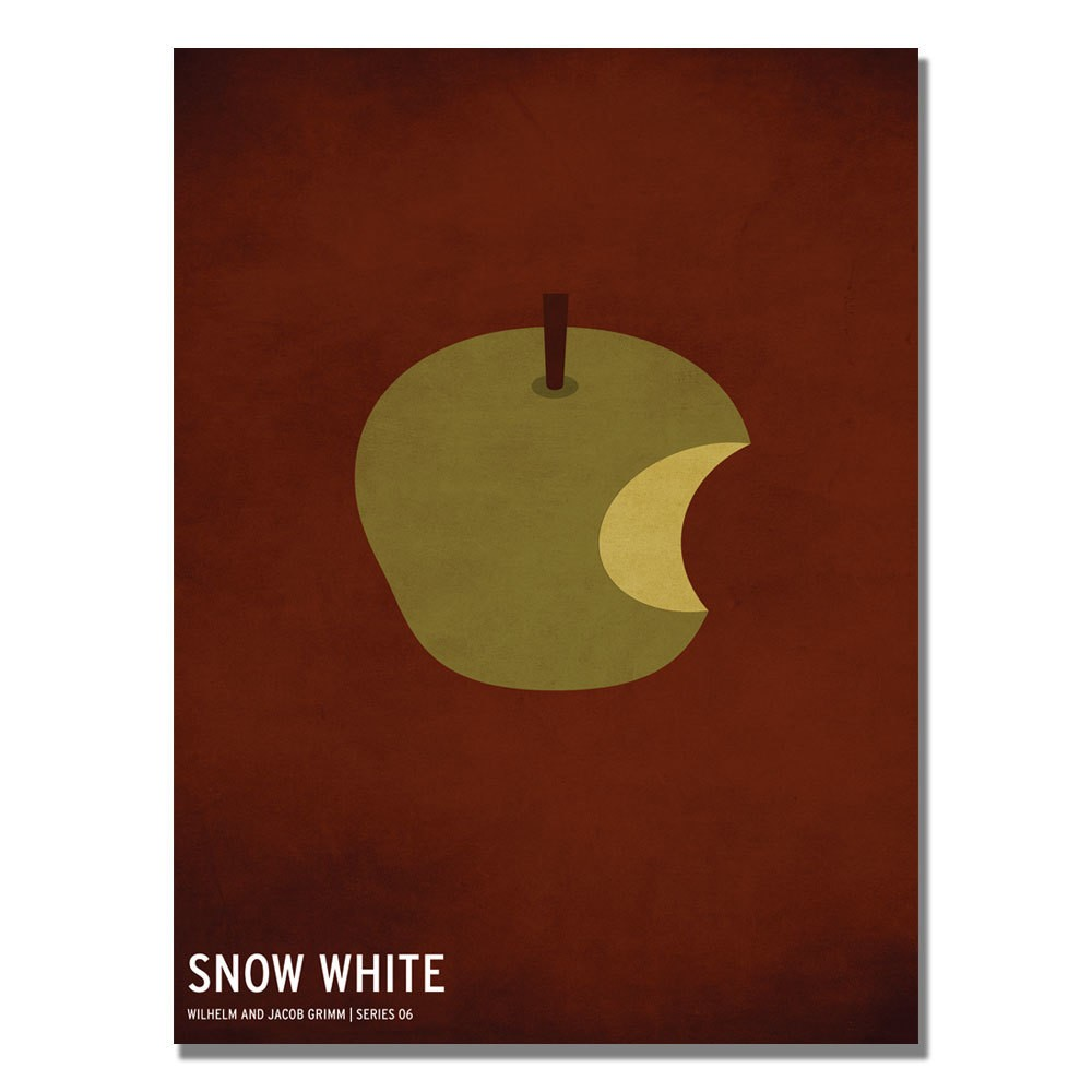 'Snow White' by Christian Jackson Ready to Hang Canvas Wall Art