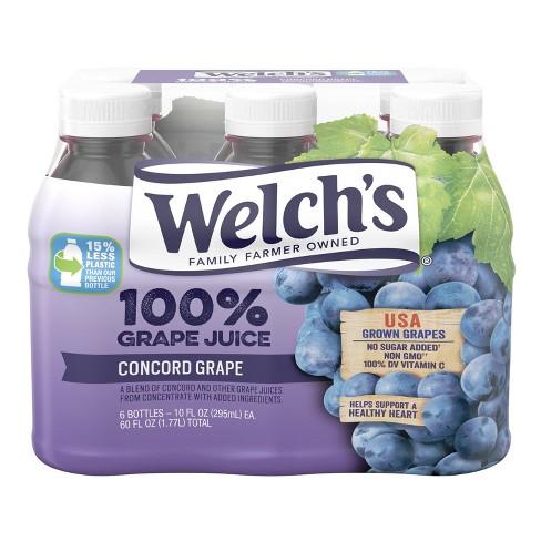 Welch's Concord Grape Juice - 6pk/10 fl oz Bottles - image 1 of 2
