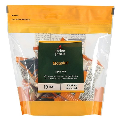 Trail Mix Monster - 1.25oz - 10ct - Archer Farms™ - image 1 of 1