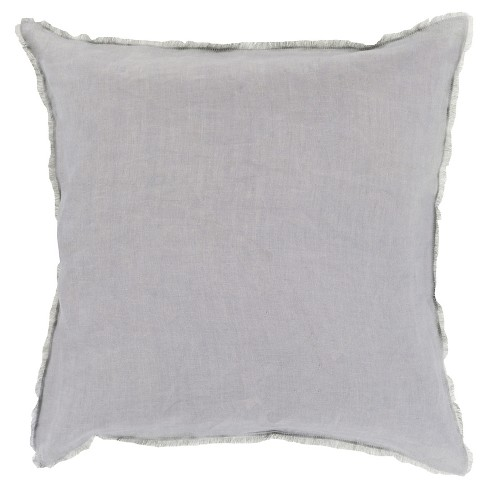 Solid Linen Throw Pillow - Surya® - image 1 of 1