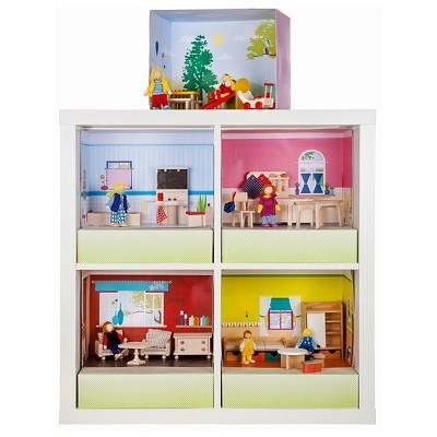 Rulke Puppenhaus Im Regal Doll House Modular Play Set   Kitchen : Target