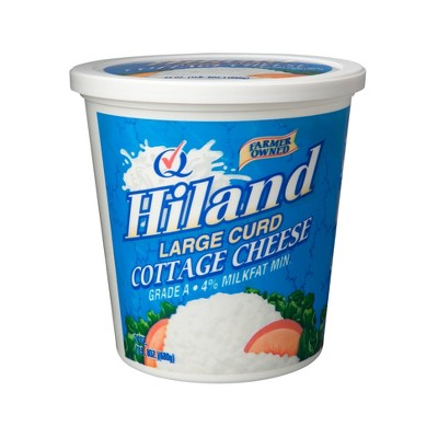 Hiland Large Curd Cottage Cheese - 24oz