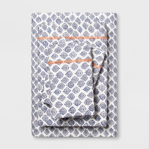 Print Cotton Percale Sheet Set - Opalhouse™ - image 1 of 1