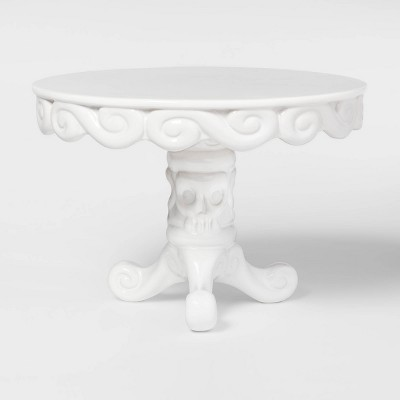 Halloween Porcelain Cake Stand White - Hyde and Eek! Boutique - Spritz™