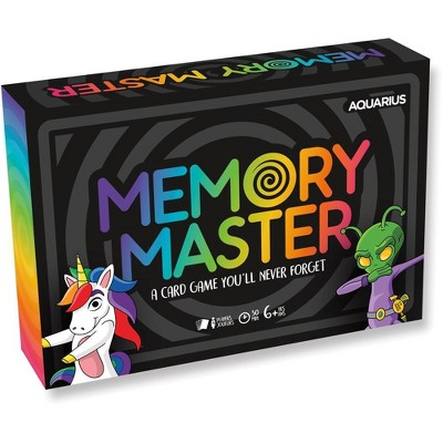 NMR Distribution Memory Master Family Card Game | 4 Players
