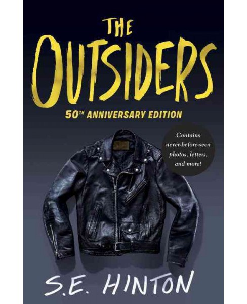 Outsiders : 50th Anniversary Edition (Hardcover) (S. E. Hinton) - image 1 of 1