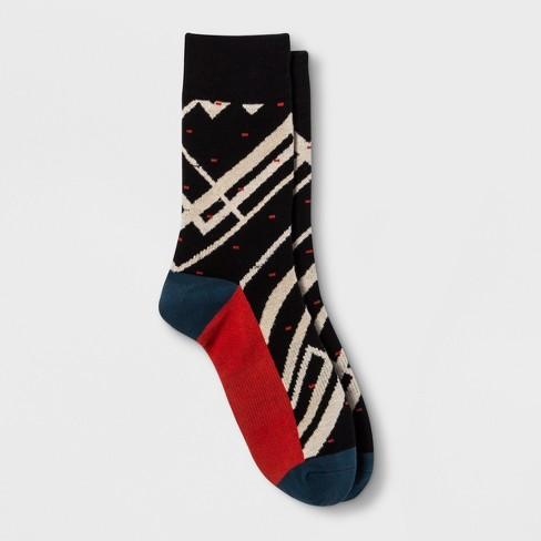 Pair of Thieves Men's Upright Seatback Socks - Black 8-12 - image 1 of 2