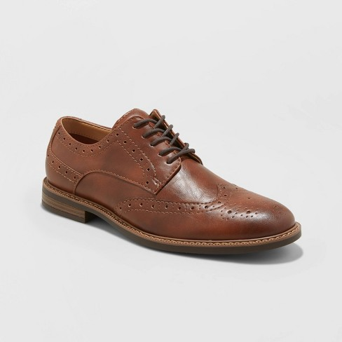 Men's Francisco Oxford Shoes - Goodfellow & Co.™ Brown - image 1 of 3
