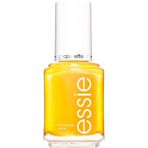 Essie Nail Polish High Shine Yellow - 0.46 Fl Oz : Target