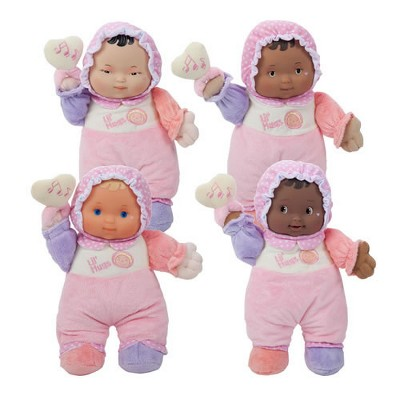 JC Toys Lil' Hugs Soft Body Dolls - Set of 4