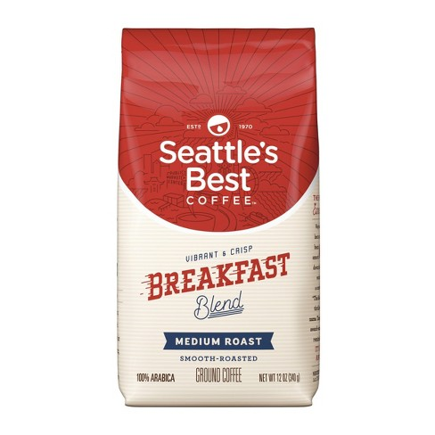 Seattle's Best Coffee Breakfast Blend Medium Roast Ground Coffee - 12oz - image 1 of 4