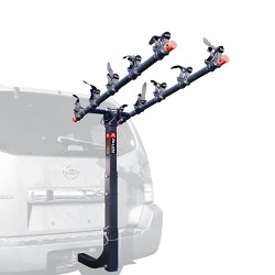 Allen Sports Deluxe 5 Bike Storage Mount Carrier Rack Hitch for Car Back Bumper
