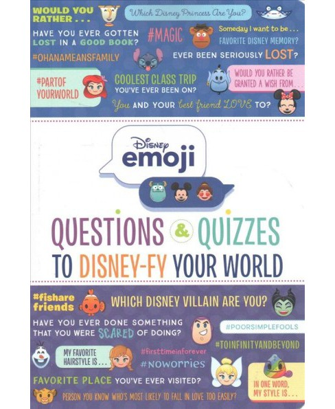 Disney Emoji : Questions & Quizzes to Disney-Fy Your World -  (Paperback) - image 1 of 1