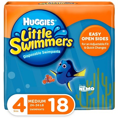 Huggies Little Swimmers Disposable Swimpants - Size M (18ct)