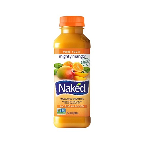 Naked Mighty Mango All Natural Fruit Juice Smoothie - 15.2oz - image 1 of 1