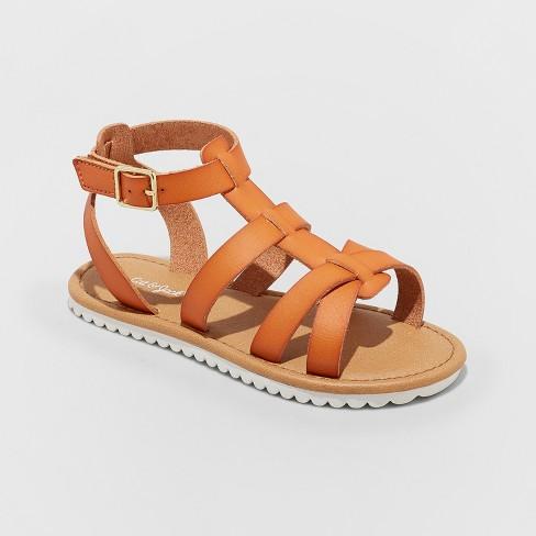 f1720effe6ea Girls  Mya Gladiator Sandals - Cat   Jack™   Target