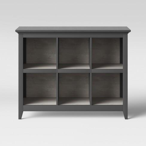 "37.2"" Carson 6 Bin Organizer Bookcase - Threshold™ - image 1 of 4"