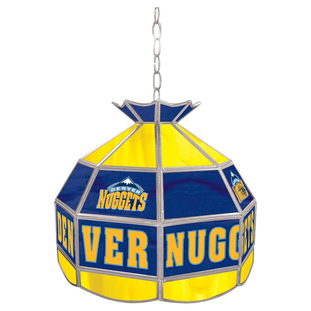 Denver Nuggets Tiffany Style Lamp - 16 inch