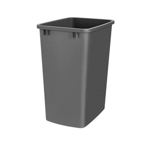 Rev-A-Shelf RV-35-18-52 35-Quart Plastic Replacement Waste Container, Black - image 1 of 1