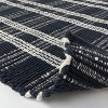 Windsong Indoor/Outdoor Plaid Scatter Rug Navy - Threshold™ designed with Studio McGee - image 4 of 4