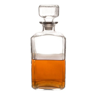 34oz Glass Whiskey Decanter - Cathy's Concepts
