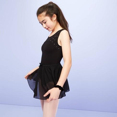 Girls' Dancewear Skirt - More Than Magic™ Black - image 1 of 3