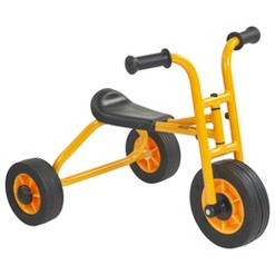 RABO/ECR4Kids Yellow Trike, Starter No-Pedal Tricycle for Backyards & Playground