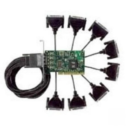 Digi DTE Fan-Out Cable Adapter - DB-25 Male, HD-68 Male - 4ft - image 1 of 1