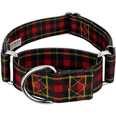 Country Brook Petz® 1 1/2 Inch Buffalo Plaid Martingale Dog Collar