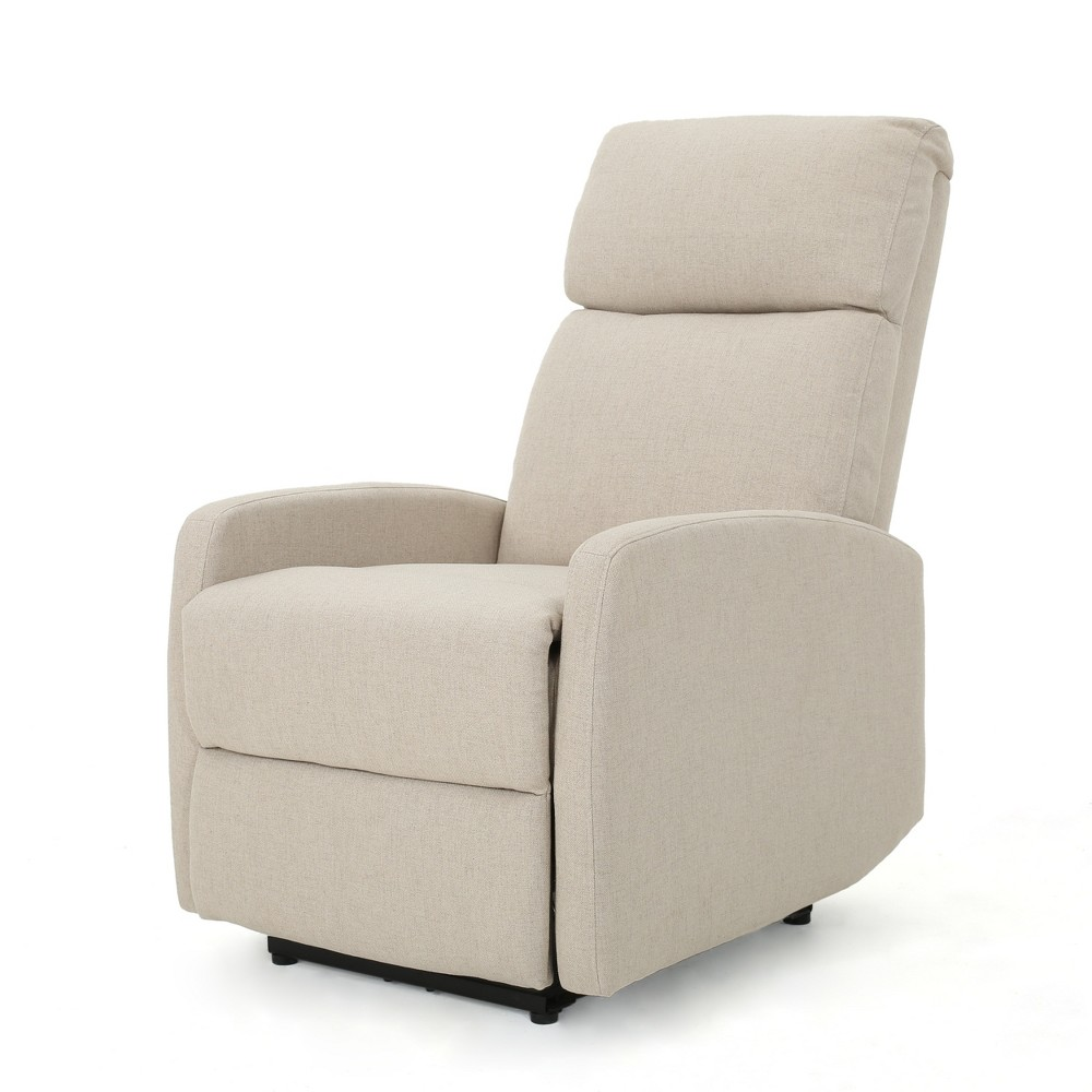 Sofie Tufted Power Recliner Wheat - Christopher Knight Home