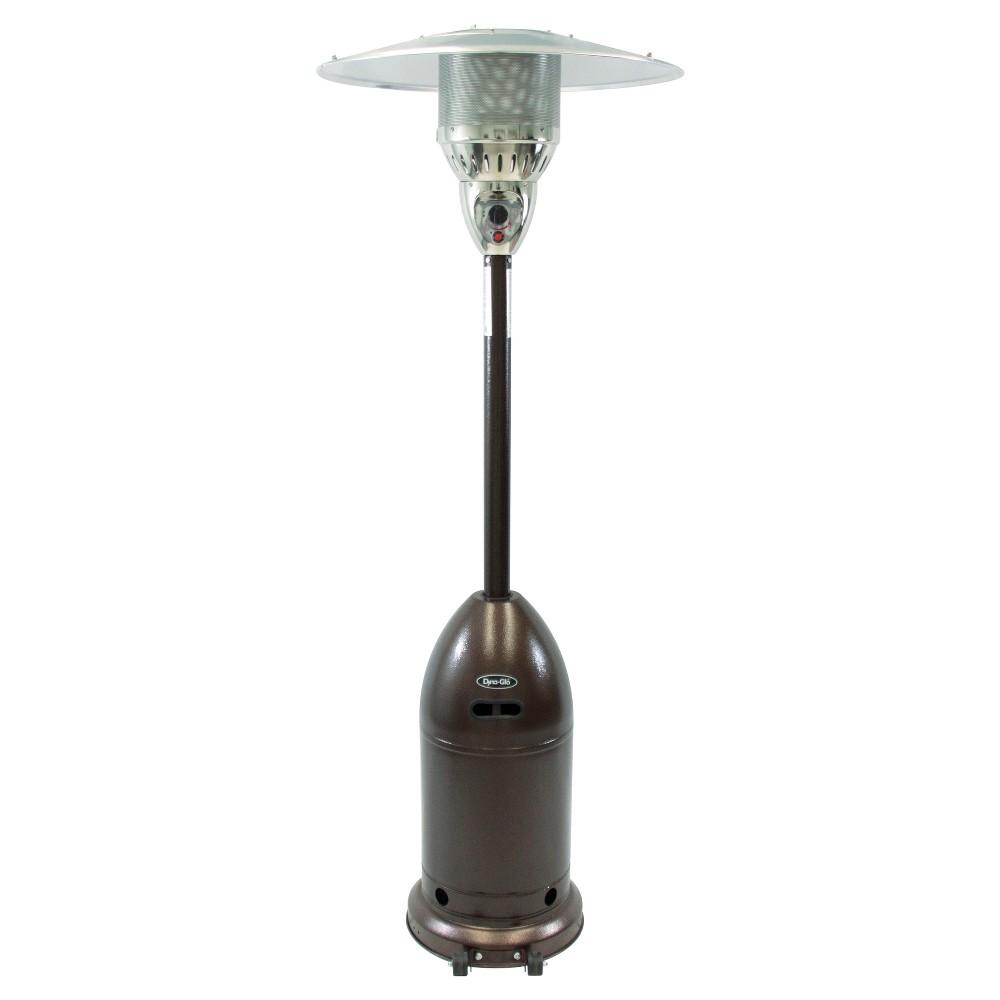 48,000 Btu Premium LP Gas Patio Heater - Hammered Bronze - Dyna-Glo