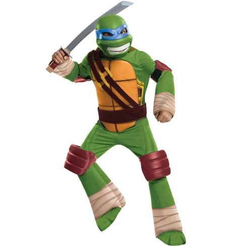 Rubies Tmnt Leonardo Boys Deluxe Costume L Target