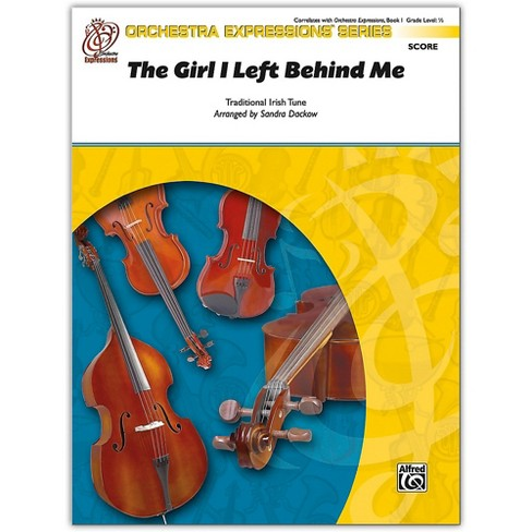 Alfred The Girl I Left Behind Me Conductor Score 0.5 - image 1 of 1