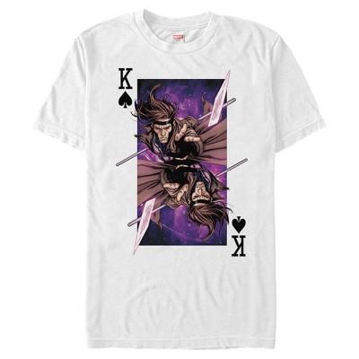Men's Marvel X-Men Gambit Playing Card T-Shirt