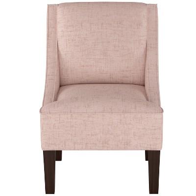 Hudson Swoop Chair Pale Pink Velvet   Threshold