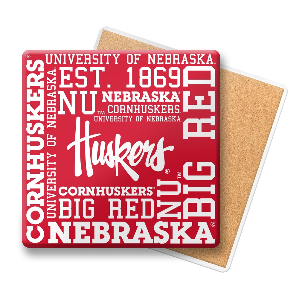 NCAA Nebraska Cornhuskers Spirit Coaster