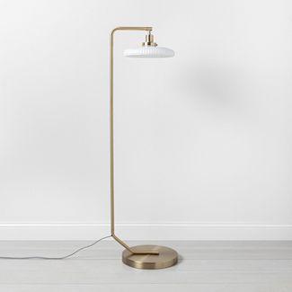 Brass Floor Lamp - Hearth & Hand™ with Magnolia