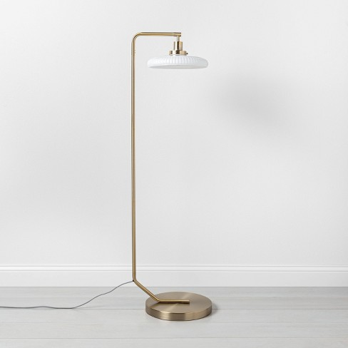 Brass Floor Lamp - Hearth & Hand™ with Magnolia - image 1 of 4