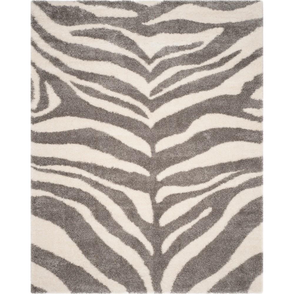 9'X12' Shapes Loomed Area Rug Ivory/Gray - Safavieh