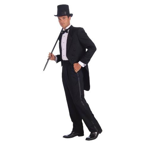 59d1f706d5b1 Men's Vintage Hollywood Tuxedo Costume - One Size : Target
