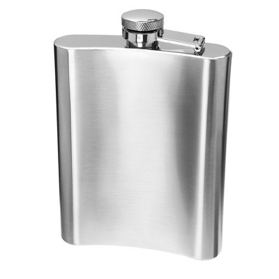 Oggi Stainless Steel Hip Flask with Funnel