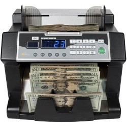 Royal Sovereign Bill Counter with UV, MG, IR Counterfeit Detection - Supports New US $100 Notes RBC-3100